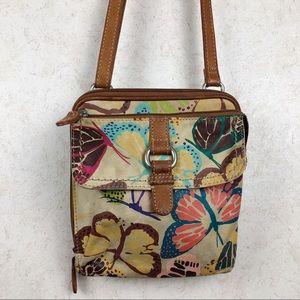 Fossil Butterfly crossbody purse